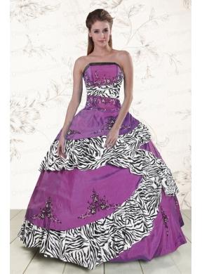 quinceanera dresses purple and zebra wwwpixsharkcom