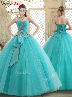 Lovely Quinceanera Dress with Beading and Paillette