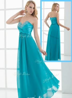 New Arrivals Empire Beading Evening Dresses